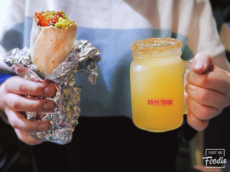 Burrito RICOS TACOS