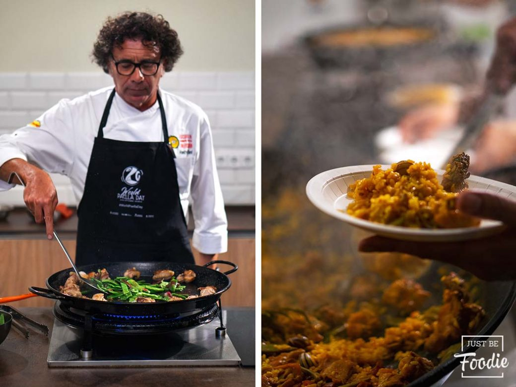 Manuel Benito World Paella Day