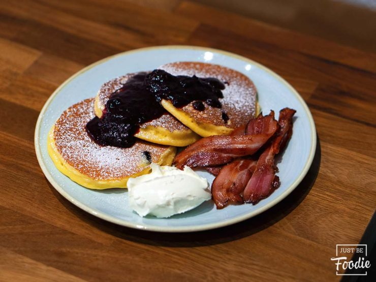 Tortitas The Fix Desayuno en Madrid