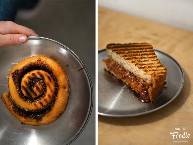 Canel Roll Sandwich Cacahuete Especialidad Madrid