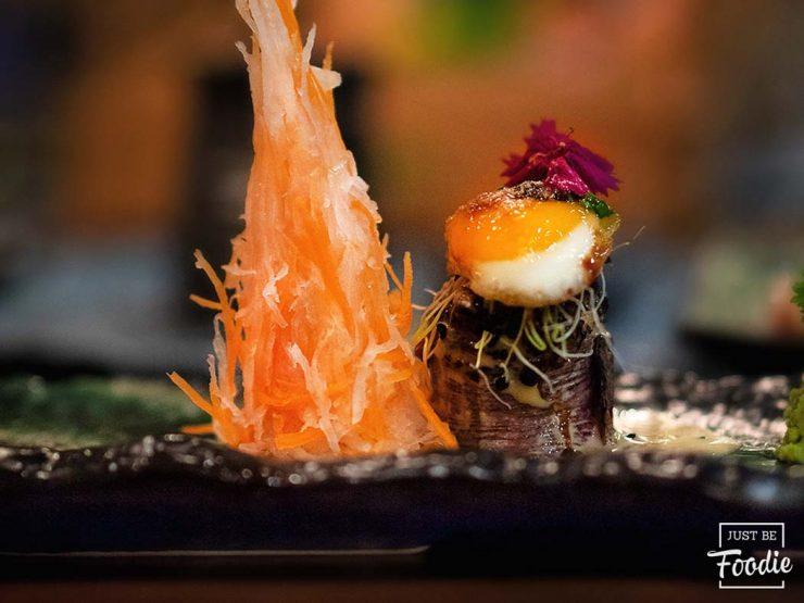 Gunkan Solomillo Kiboka Restaurante Japones en Madrid
