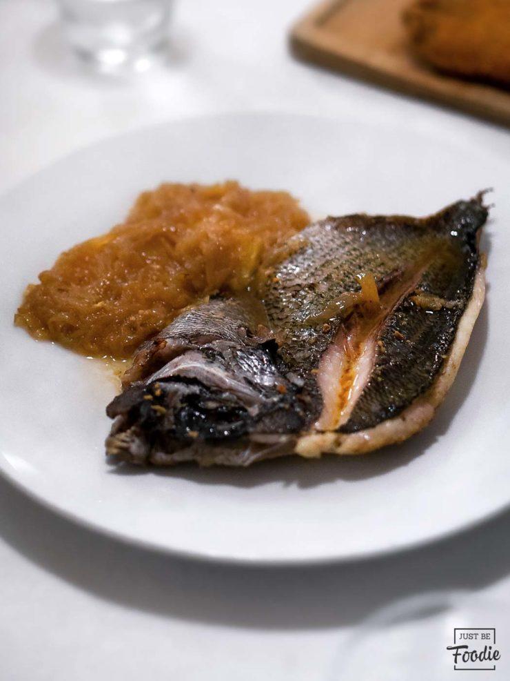 Restaurante Eutimio Pescado Asturias