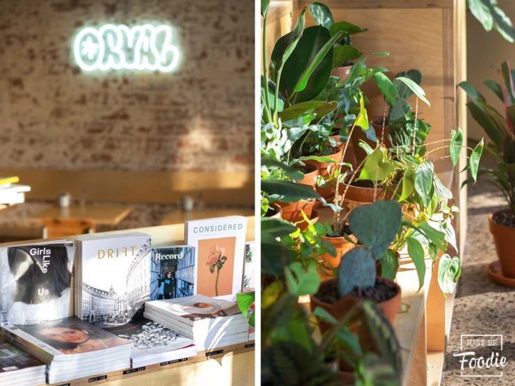 Orval Plantas Libros Cafe Barcelona