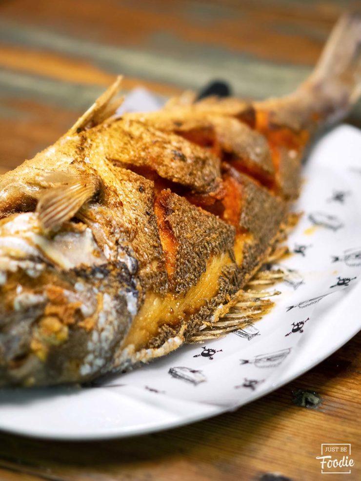 Dorada al Mojo Picon Chef del Mar