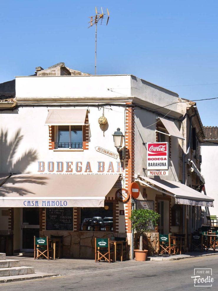 Restaurante Bodega Barahona Mallorca