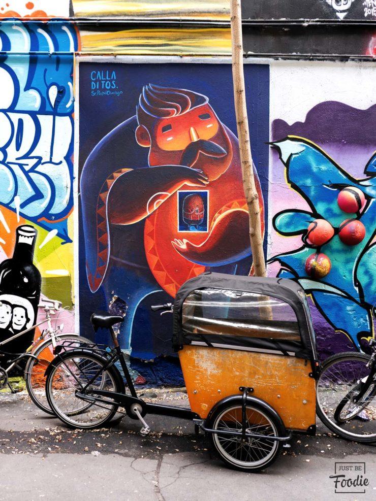 Graffiti guia turismo berlin