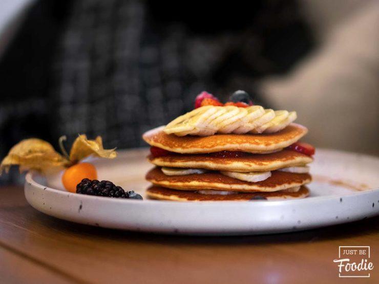 Pancakes Caseros Religion Cafe Madrid