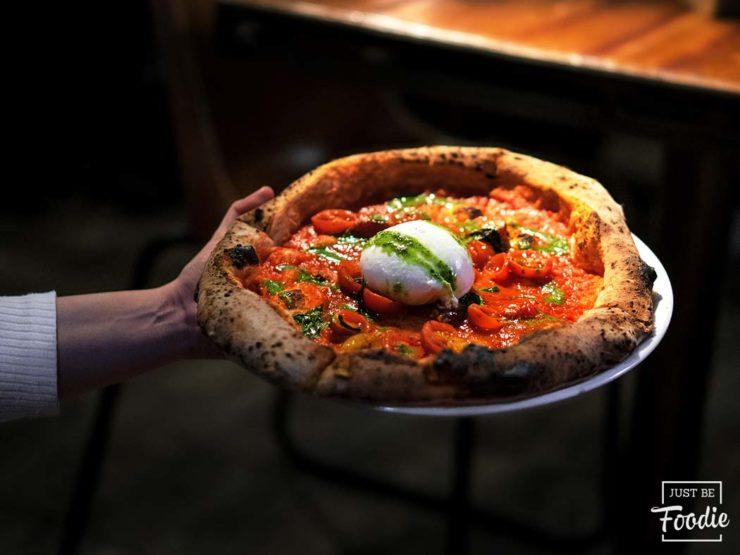 pizza grosso napoletano madrid italiano