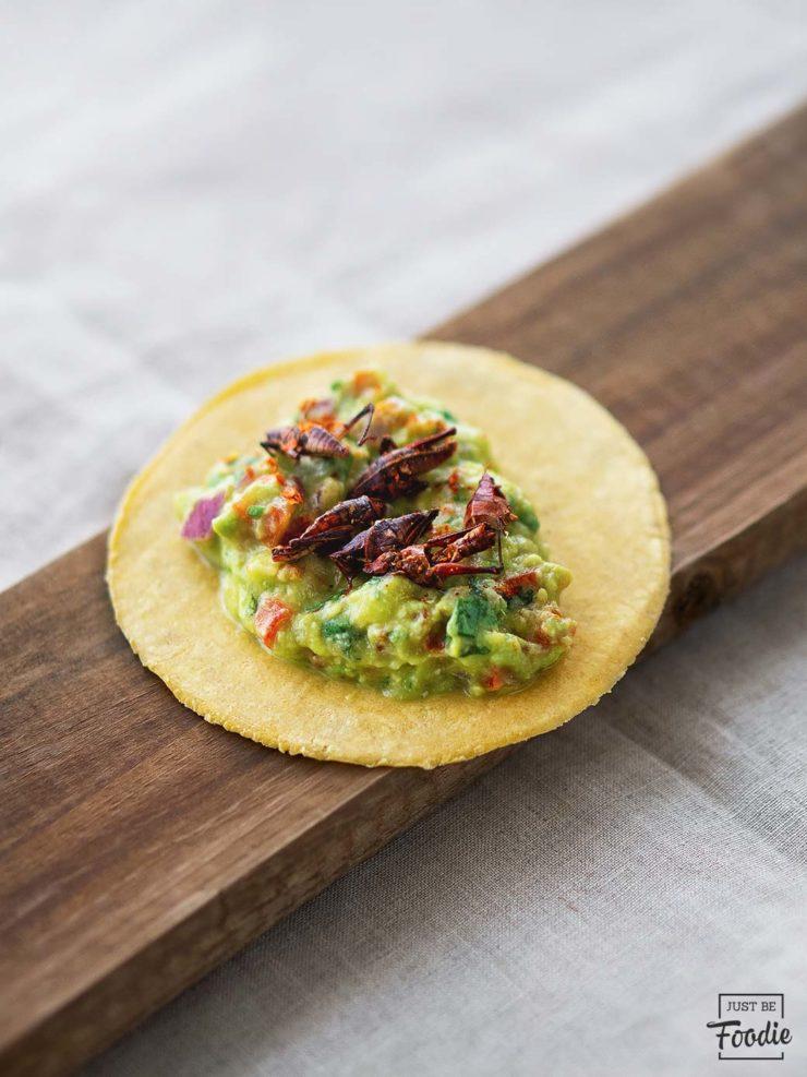 Chapulines LA TURULITA comida mexicana ibiza