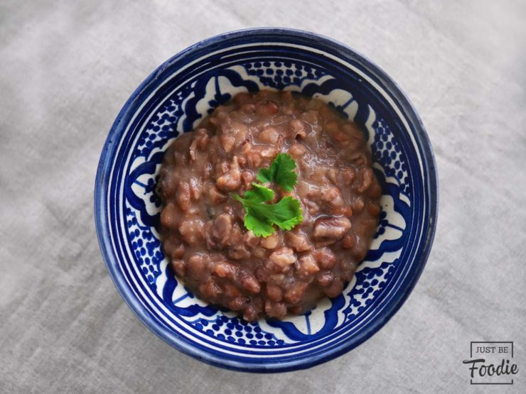 Frijoles LA TURULITA comida mexicana ibiza