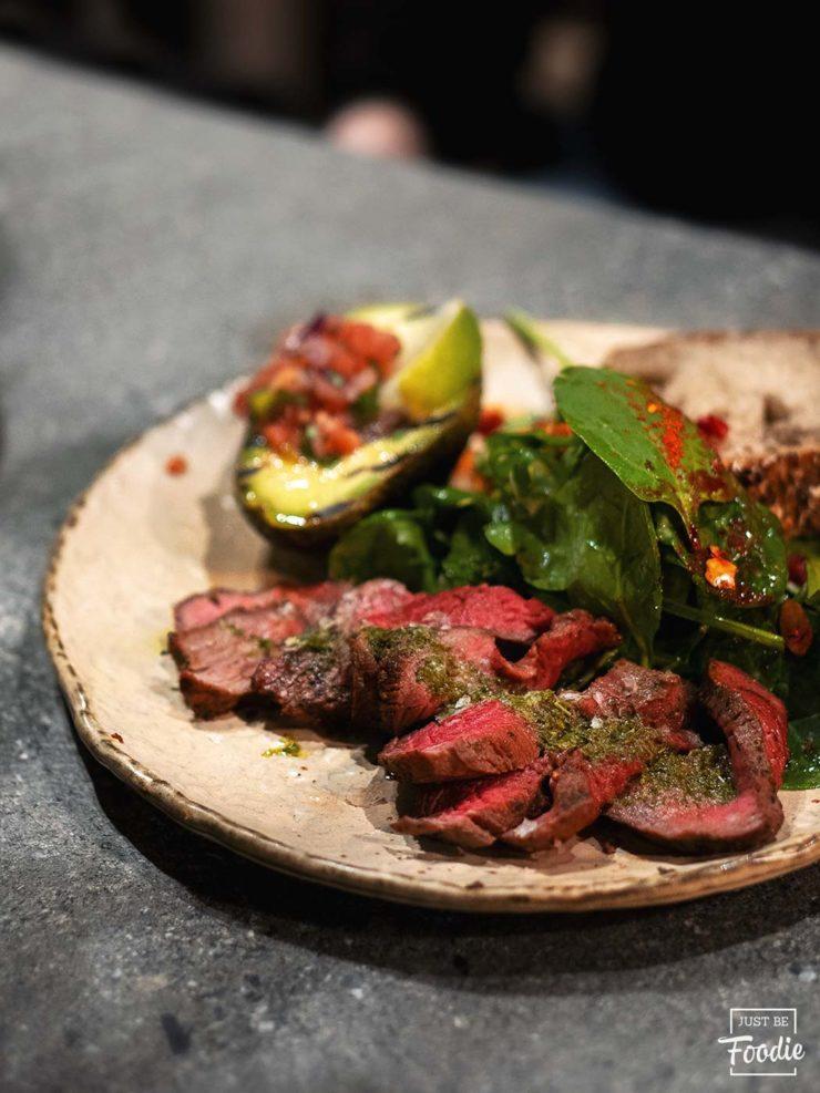 Carne HONEST GREENS restaurante comida sana madrid