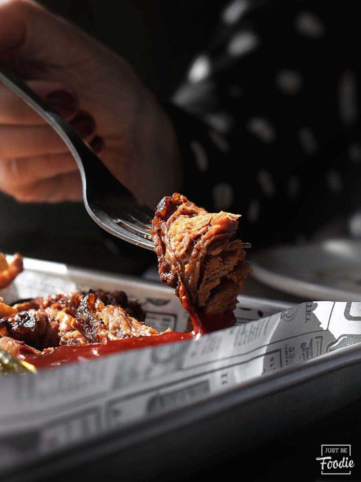 Carne ahumada restaurante PORCO ROSSO madrid