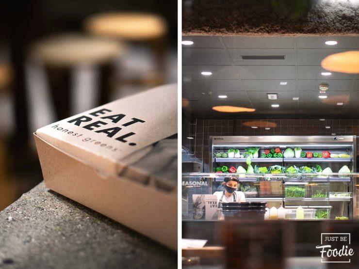 Delivery HONEST GREENS restaurante comida sana madrid