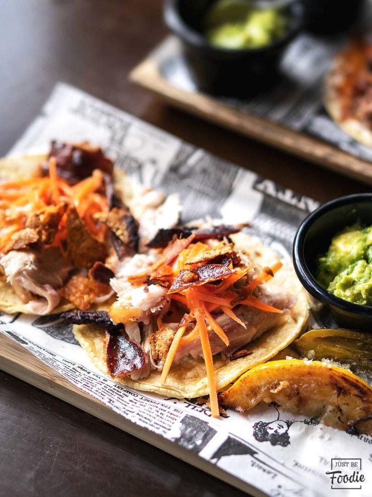 Taco Lechon restaurante carne ahumada madrid