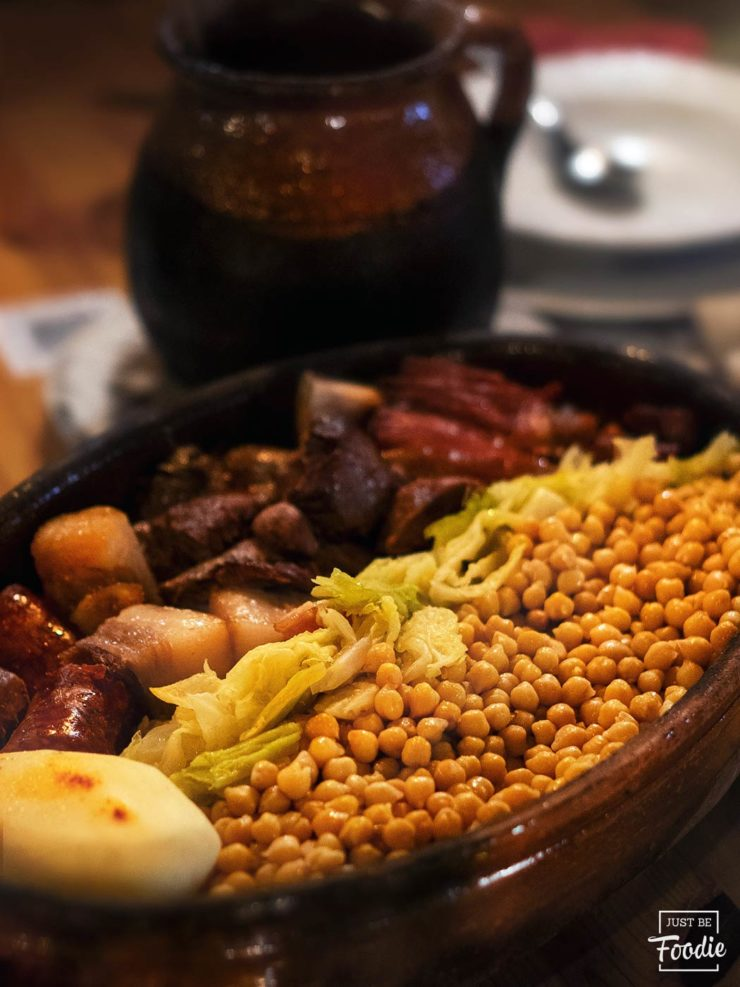 comer cocido sierra madrid reserva