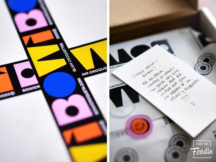 BOWI croquetas online packaging cuidado