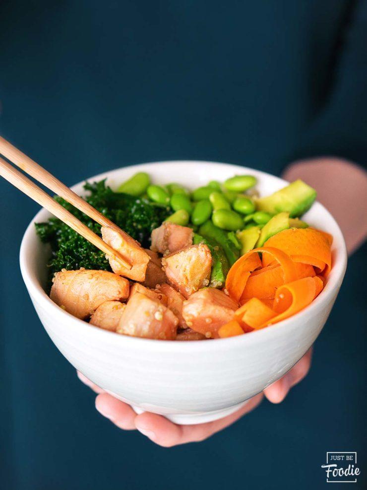 Poke restaurante comida saludable madrid