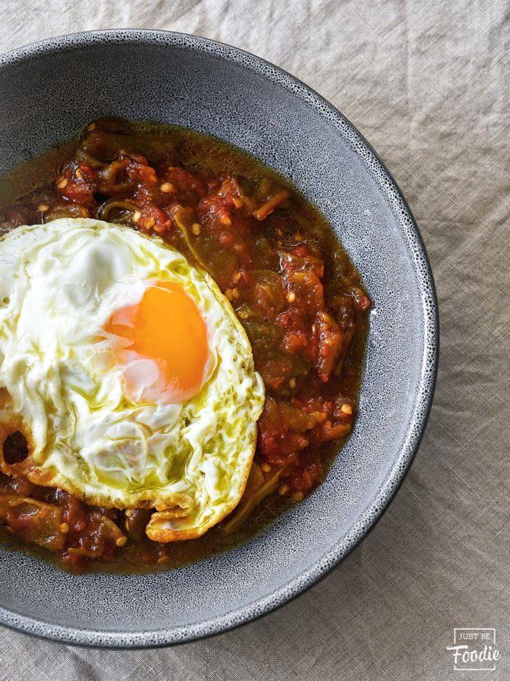cocopi pimientos asados huevos