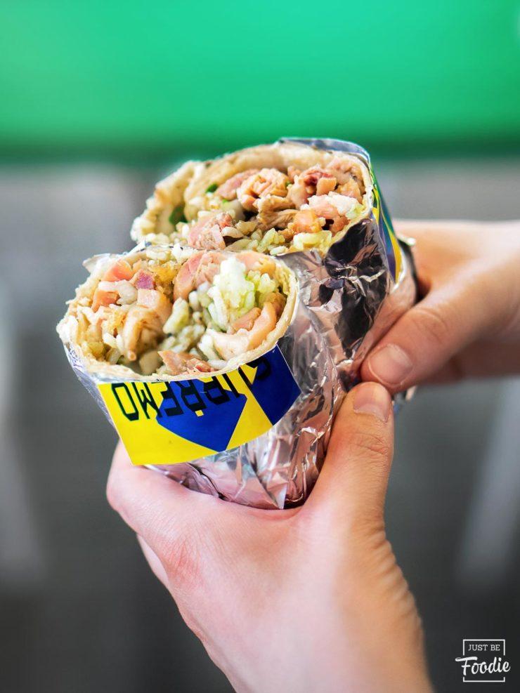 brutal burrito taco mexicano