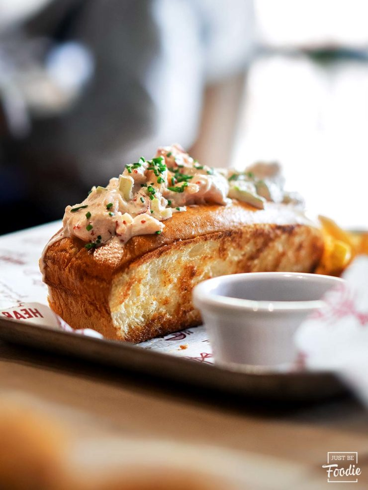 the lobstar langosta mayonesa